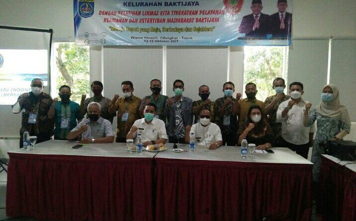 Pelatihan Linmas Kelurahan Baktijaya, Jangan Lengah